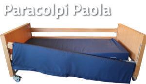 Paracolpi paola posizionato sul letto